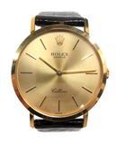 ロレックス ROLEX 1991年製 4112/8 チェリーニ 18K 手巻き 腕時計 ゴールド ジャンク
