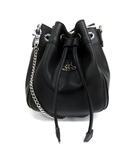 ヴィヴィアンウエストウッド Vivienne Westwood VEGAN 巾着 ショルダーバッグ バケット ヴィーガンレザー 43020018 黒 ブラック