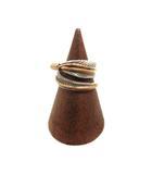 STERLING TEE MACE 12KGF フェザー リング 指輪 インディアン ジュエリー アクセサリー