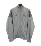 アディダス adidas FC BAYERN MUNCHEN サッカー ウエア ジャケット O グレー 210423E ※OIM
