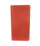 ルイヴィトン LOUIS VUITTON M63213 エピ ポルトカルト クレディ カードケース 札入れ ケニアブラウン