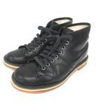 マーガレットハウエル MHL. レースアップ ブーツ 37 ブラック 210507E 靴