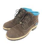 ティンバーランド Timberland 96370 ウォータープルーフ チャッカ ブーツ ブラウン 210507E 靴