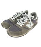 ニューバランス NEW BALANCE × マーガレットハウエル U420MAR スニーカー 24.5cm ネイビー カーキ 210507E 靴