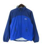 パタゴニア Patagonia ストレッチ ゼファー ジャケット 83900 アウトドアウエア 刺繍 ロゴ バイカラー XS 青 ブルー 紺 ネイビー