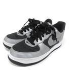 ナイキ NIKE AIR FORCE 1 BLACK SNAKE REFLECTIVE スニーカー シューズ 23.5cm DJ6033-001 グレー 210713E 靴