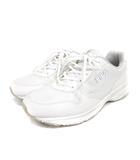 スニーカー シューズ レースアップ 24.5cm 白 ホワイト 靴 ECR8