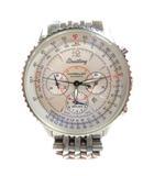 A41330 ナビタイマー モンブリラン クロノグラフ デイト 腕時計 自動巻き オートマチック ☆AA★