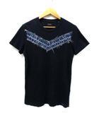 ディーゼル DIESEL デニムワッペン ラウンドネック 半袖 Tシャツ ネイビー XS 国内正規