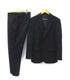ビームスハート BEAMS HEART ベーシックソリッド2Bスーツ ステッチ使い 上下 セットアップ ノータック シングルスーツ 48