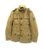 シスレー SISLEY M-65 フィールドジャケット ミリタリー ジャケット ベージュ 44