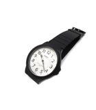 カシオ CASIO スタンダード メンズ 腕時計 ウォッチ MW-240 ラバーベルト ブラック