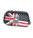 サイコバニー Psycho Bunny A/A FLAG SPORT FAIRWAY PBMG0FEH ポーチ ゴルフ ネイビー 紺