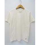 NUMBER (N)INE DENIM ナンバーナイン デニム クルーネック 音符 刺繍 半袖 Tシャツ M ホワイト 白
