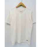 NUMBER (N)INE DENIM ナンバーナイン デニム Vネック 半袖 N 刺繍 Tシャツ M ホワイト 白