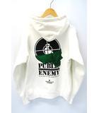 シュプリーム SUPREME × UNDERCOVER アンダーカバー 2018SS Public Enemy Terrordome Hooded Sweatshirt パブリックエネミー パーカー S White
