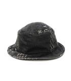 ルイヴィトン LOUIS VUITTON 2020AW MP2745 NIGO ニゴー コラボ ボネ・ダミエ ジャイアント ウェーブ モノグラム デニム ハット 帽子 58 国内正規品