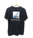 2020SS THE NORTH FACE ノースフェイス S/S SQ YOSEMITE T スクエアヨセミテ Tシャツ XL NT32002A BLACK 黒