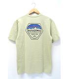 未使用品 2019SS PATAGONIA パタゴニア 38439 Men's Fitz Roy Hex Responsibili-Tee Tシャツ S Regular Fit WSTO