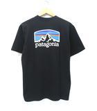 未使用品 2019SS PATAGONIA パタゴニア 38440 M's Fitz Roy Horizons Responsibili-Tee Tシャツ S BLK 黒