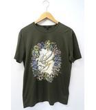 グッチ GUCCI GUCCI グッチ 343517 X3A20 フローラル プリント Tシャツ S KHAKI カーキ