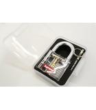 未使用品 2017AW SUPREME シュプリーム Transparent Lock トランスペアレントロック 南京錠 Clear