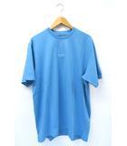 シュプリーム SUPREME 未使用品 2021AW SUPREME シュプリーム High Density Small Box S/S Top スモールボックスロゴ Tシャツ L Light Slate