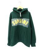 シュプリーム SUPREME 未使用品 2021AW SUPREME シュプリーム Pearl Logo Hooded Sweatshirt パール ロゴ フーディ パーカー L Green