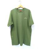 シュプリーム SUPREME 未使用品 2021AW SUPREME シュプリーム Arabic Logo Washed S/S Tee アラビックロゴ Tシャツ L Olive