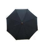 ナショネルトラストTHE NATIONAL TRUST 日傘 折りたたみ傘 ペイズリー柄 手動式 黒 ブラック
