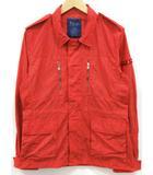 タトラス TATRAS F2ジャケット ミリタリー ナイロン ジップ 赤 レッド ワッペン MTA13S4123 02 国内正規