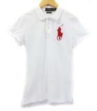 ポロ ラルフローレン POLO RALPH LAUREN ポロシャツ 半袖 ビッグポニー XS 白 ホワイト