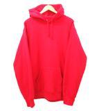 シュプリーム SUPREME Sequin Arc Hooded Sweatshirt Red 19SS フーディー パーカー シークイン アーチ ロゴ スウェット レッド 赤 XL コットン 裏起毛 カナダ製 ddd