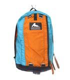 グレゴリー GREGORY リュックサック デイパック バイカラー ナイロン 青 オレンジ ブルー 鞄