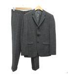 セオリー theory セットアップ スーツ ジャケット 38 パンツ 30 ウール混 グレー