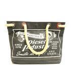 ディーゼル DIESEL ハンド バッグ トート ペーパー ブレイブマン プリント ブラック 黒 S-191004