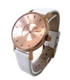 クラス14 KLASSE14 MARIO NOBILE VOLARE ROSEGOLD 36mm ヴォラーレ ローズ ゴールド クォーツ 腕時計 ●025