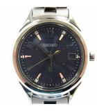 セイコー SEIKO LUKIA SSVW109 1B22-0AX0 ルキア エターナルブルー 2017 1500本 限定モデル ソーラー 電波 ダイヤ ダイヤモンド 腕時計 SS