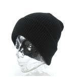 ナイキ NIKE ナイキラボ NIKELAB Essential Beanie Hat AO1392 010 ビーニー ニット キャップ ニット帽 帽子 ウール混紡 ブラック 黒