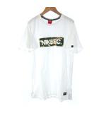 ナイキ NIKE AS NIKE FC CAMO TOP 716217-100 Tシャツ カットソー カモフラージュ カモフラ ボックス ロゴ プリント 半袖 ホワイト 白 XL