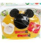 ディズニー Disney baby ベビー ミッキーマウス アイコン ランチプレート セット 5ヵ月から 食器 ■