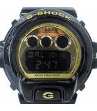 カシオジーショック CASIO G-SHOCK DW-6900CB-1JF STANDARD Crazy Colors スタンダード クレイジーカラーズ 腕時計 ブラック ゴールド 黒 金