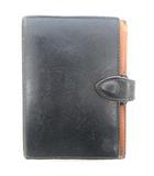 フェリージ Felisi 2303 システム 手帳 カバー ケース 6穴 リング レザー 本革 ブラック 黒 ●IBS88