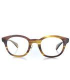 金子眼鏡 KANEKO OPTICAL ビューティー&ユース ユナイテッドアローズ B&Y BEAUTY&YOUTH UNITED ARROWS celluloid セルロイド メガネ 眼鏡 めがね ボストン セルフレーム べっ甲柄 ベージュ