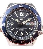 SEIKO 5 SPORTS セイコー5 スポーツ 7S36-01E0 自動巻き 腕時計 ダイバー 200M 23石 紺文字盤