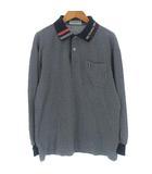 マンシングウェア MUNSINGWEAR ポロシャツ カットソー ペンギン 刺繍 長袖 ネイビー 紺 SA