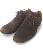 ポールハーデン Paul Harnden Shoemakers スエード レザー シューズ レースアップ ストレートチップ ブラウン 茶 28.0cm相当 HRO0319 靴