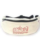 マンハッタンポーテージ Manhattan Portage ウエスト バッグ ボディ バッグ ポーチ ワンショルダー キャンバス ロゴ ナチュラル かばん カバン 鞄