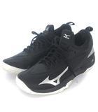 ミズノ MIZUNO ウエーブインパルス ワイド OC 61GB196003 テニス シューズ ブラック 黒 27.5 シューズ 靴