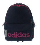 アディダス adidas リュックサック デイパック バックパック ロゴ プリント ネイビー 紺 かばん カバン 鞄